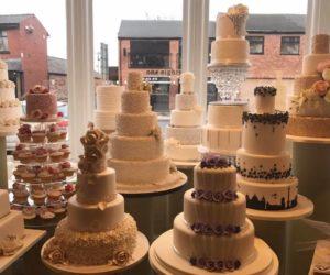 cake dummies window display