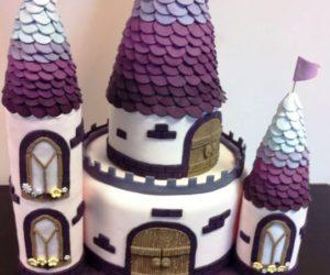 fake castle cake
