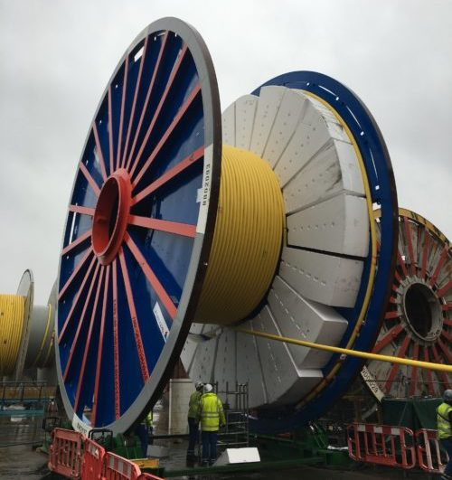 umbilical cable reel