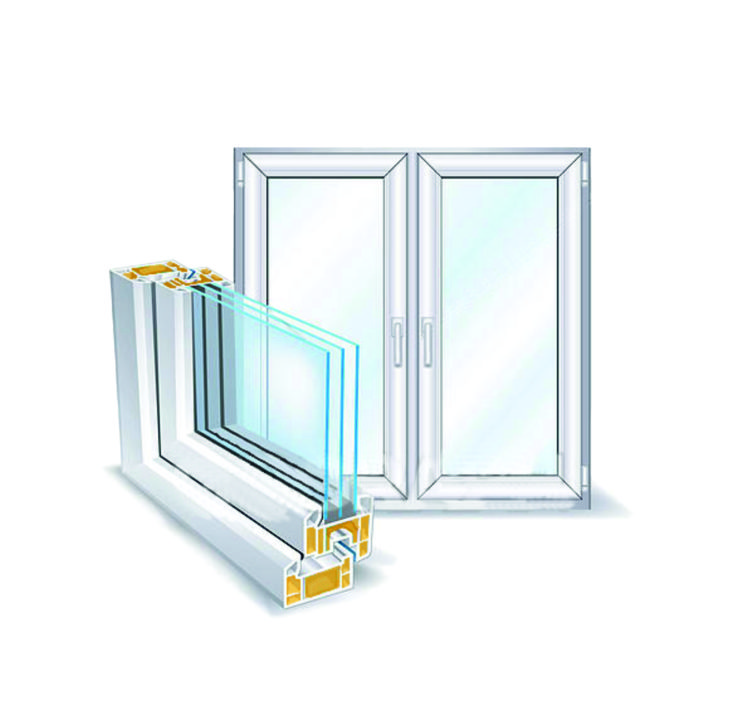 Polystyrene Thermal Barriers for Window Sections
