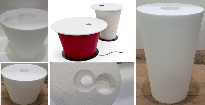 Polystyrene Furniture Core
