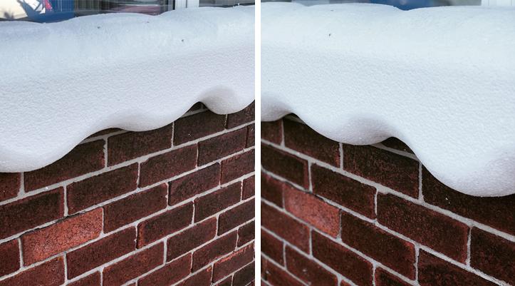3D Polystyrene Snow